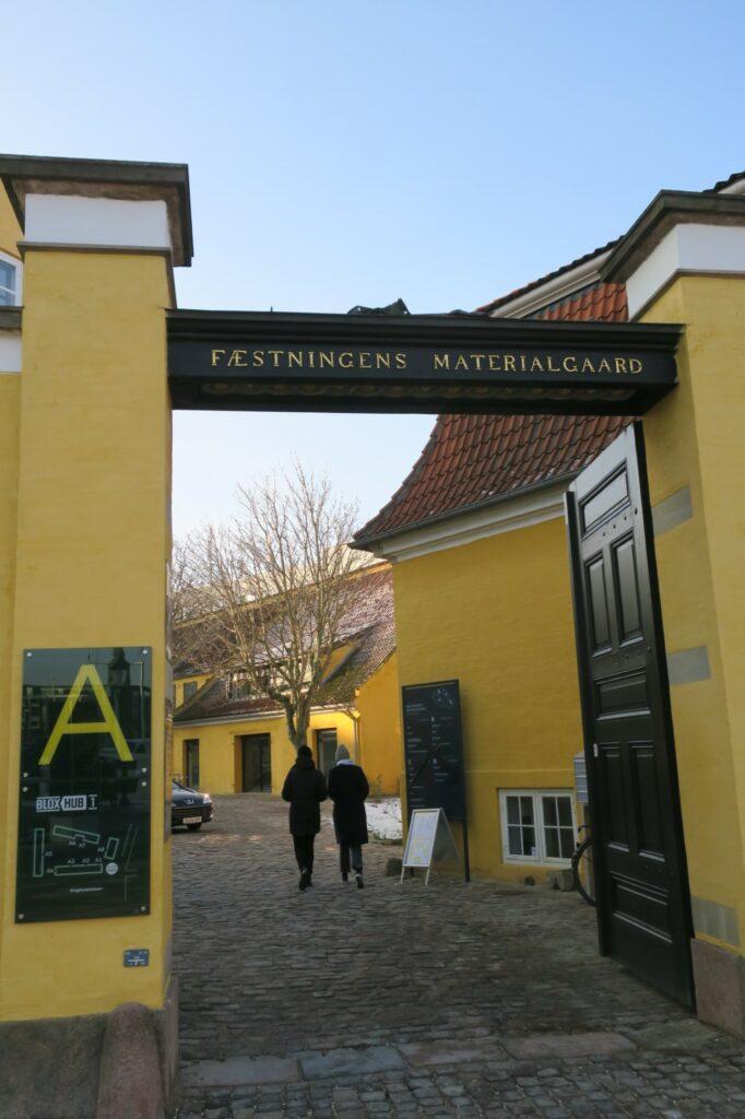 Fæstningens Materialgård ejes af virksomheden Realdania