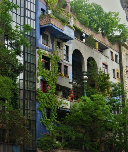 Hundertwasser huset i Wien Realdaniakritik